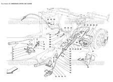 Hand Brake Pads Set Genuine Ferrari 360 Challenge 430 Scuderia Spider 70001614
