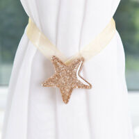 1pc Star Shape Magnet Curtain Buckle Magnetic Mesh Tieback Holder Curtain C MW