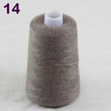 100gr Cone Soft Pure Cashmere Hand Knitting Crochet Yarn Wrap Shawl 14