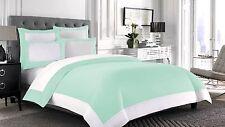 Designer Reversible Pillowcase 1000-TC Egyptian Cotton 2 piece All Size & Color