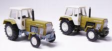 H0 2 x BUSCH Traktor Fortschritt ZT 300 & 303 Allrad grün Doppelpack 42849 42844