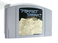 AUTHENTIC! Perfect Dark - Nintendo 64 N64 Game - Tested - Working