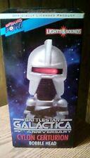 Bif Bang Pow ! Battlestar Galactica * Cylon Centurion * Talking Bobblehead