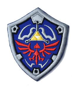 Hylian Shield Zelda Iron on Patch