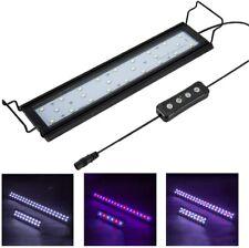 Full Spectrum Aquarium Light w Aluminum Alloy Shell Extendable Brackets LEDs