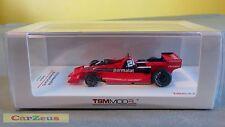 1:43 TrueScale Miniatures TSM 1978 Brabham BT46 Alfa Romeo Fan Car #2 Swedish GP
