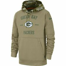 2019 Green Bay Packers NFL Nike Salute to Service Hoodie (XL)