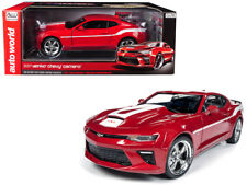 2017 Chevrolet Camaro Yenko Coupe Red With White Stripes Limited Edition to 1002