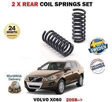 FOR VOLVO XC60 2.0D 2.4D D3 D4 D5 AWD 2008-> 2x REAR LEFT RIGHT COIL SPRING SET