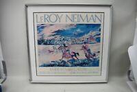 Leroy Neiman Emerald Art Gallery Hotel Del Coronado Horse Beach Signed Print