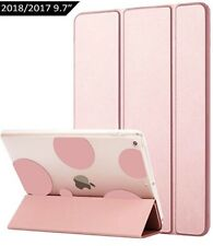 Funda Carcasa Apple iPad rosa burbujas