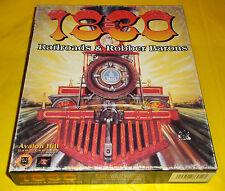 1830 RAILROADS & ROBBER BARONS Pc Versione Americana 1ª Ed Big Box ○○○○ COMPLETO