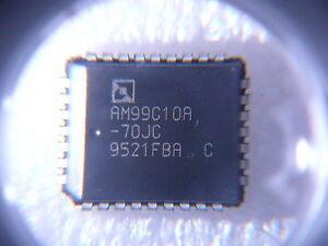 AMD AM99C10A-70JC  256X48 CONTENT ADDRESSABLE SRAM 45ns PQCC32 **NEW**