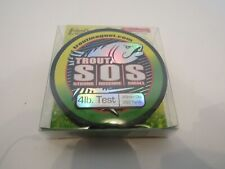 Trout Magnet S.O.S. Fishing Line, 350yd, 4lb