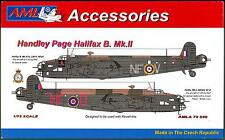 AML Models 1/72 HANDLEY PAGE HALIFAX B.Mk.II Resin & Decals Conversion Kit