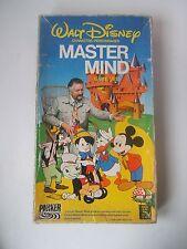 Vintage Walt Disney Master Mind 1979 Complete