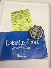 Vintatge Oceanic DataMax Sport Scuba Dive Depth Puck Module-Manual As Is
