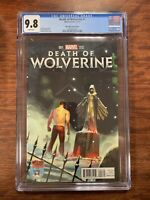 DEATH OF WOLVERINE, Mile High Comics #1, VARIANT EDITION, MARVEL CGC 9.8