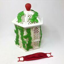 Vintage Strawberry Shortcake Garden House Gazebo with Hammock 1981 Toy Playset