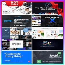 WordPress Themes Premium ✅ TOP 9 Best Selling ✅ 2020 ✅ Avada-The7-Flatsome... 🔥