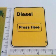 Gas Pump Sticker Replacement Parts - Diesel (Large) - Part #522