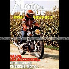 MOTO REVUE N°2337 BMW R 80 /7 SERIE 7, BPS 250 ROTAX, NOGARO, GRAND PRIX 1977