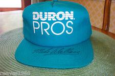 NASCAR Mike Wallace autographed Team Duron Pros Racing Cap   100-628