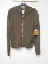 Rachel Roy New Womens Medium Hear Me Roar Sweater Jacket Hooded Zip Sweatshirt