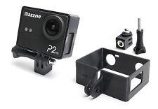 Frame Mount + Tripod Mount f. Dazzne P2 Action Cam Rahmen Zubehör Stativ Adapter