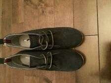 Sperry Top Sider Womens Stella Ankle Boots Size 7m Navy Suede Leather Wedges