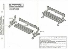 Playmobil Bauanleitung 5504/5508 Gendarm Vagabund