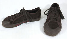 DC Shoes Sneaker Men 7 Women 8 Tracer SE Brown Suede Skateboard Athletic Oxford