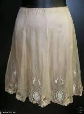 ELIE TAHARI Silk Chiffon Stone ALANA Skirt 4 $398 NWT