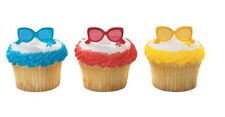 Sunglasses Shades Summer Beach cupcake picks (24) favor cake topper 2 dozen