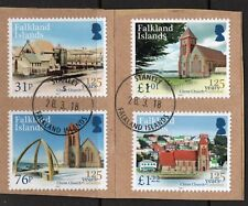 FALKLAND ISLANDS  125 years of Christ Churches superb used on piece.
