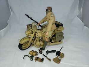1:6 Ultimate Soldier German Afrika Korps motorcycle/sidecar figure 12""
