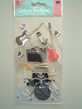 JOLEE'S BOUTIQUE STICKERS - ROCK & ROLL music electric guitar band