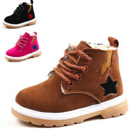 Baby Children Warm Boys Girls Martin Sneaker Boots Kids Baby Casual Snow Shoes