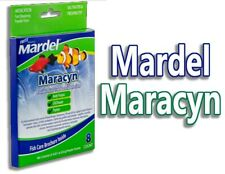 Fritz Mardel Maracyn Fast Dissolve Medicated 8 Pack Bacterial Infection Powder