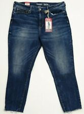 New Signature by Levi Strauss Womens High Rise Ankle Skinny Jeans Sz 16 Misses