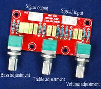 Amplifier Passive Tone Board Bass Treble Volume Control Pre-amplifier Board Kit