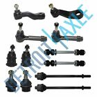 4WD Chevy Silverado 1500 Tahoe Ball Joint Tierod Pitman Idler Arm Sway Bar Kit
