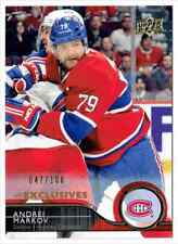 2014-15 UPPER DECK UD EXCLUSIVES ANDREI MARKOV 047/100 MONTREAL CANADIENS #103