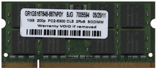 New 2Gb Dell Inspiron XPS M2010 M1710 M1210 M170 Laptop memory KTD-INSP6000B/2G
