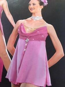 Lyrical Dance Cosstume Rose Artstone Adult Dress Cherish