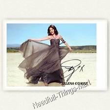 Selena Gomez / Alex Russo aus Die Zauberer vom Waverly Place Autogramm [A01] 