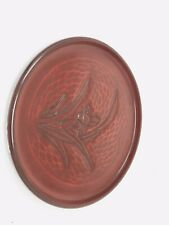 Hand Carved Oriental Wooden Plate