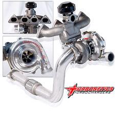T3/T4 Turbo Charger Kit W/ Turbonetics Turbocharger EF EG EK DA DC2 B16 B18 B16A