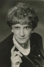 Mary Marquet Vintage silver print Tirage argentique  9x12  Circa 1964