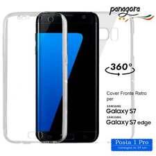 Cover Case 360° Fronte retro in TPU trasparente Samsung Galaxy S7 e S7 Edge